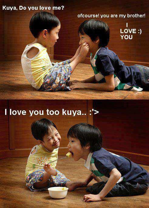 I Love You Brother Kuya Jennys Serendipity Art Blog