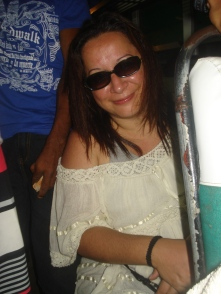 In the bus to Naga City