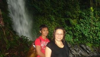 Me saying goodbye to the falls