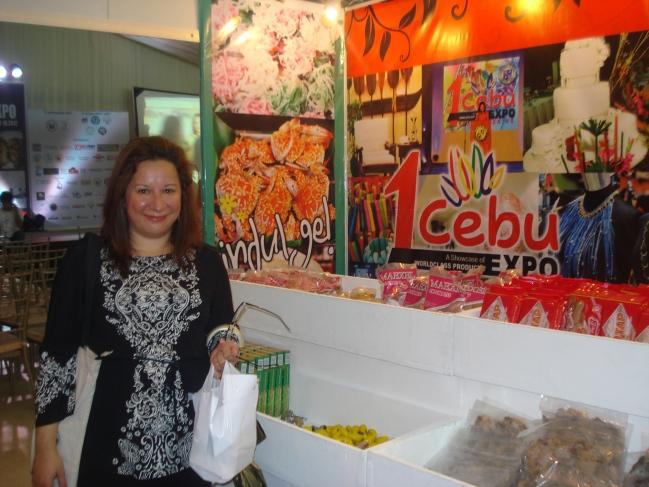 Me in Cebu Booth