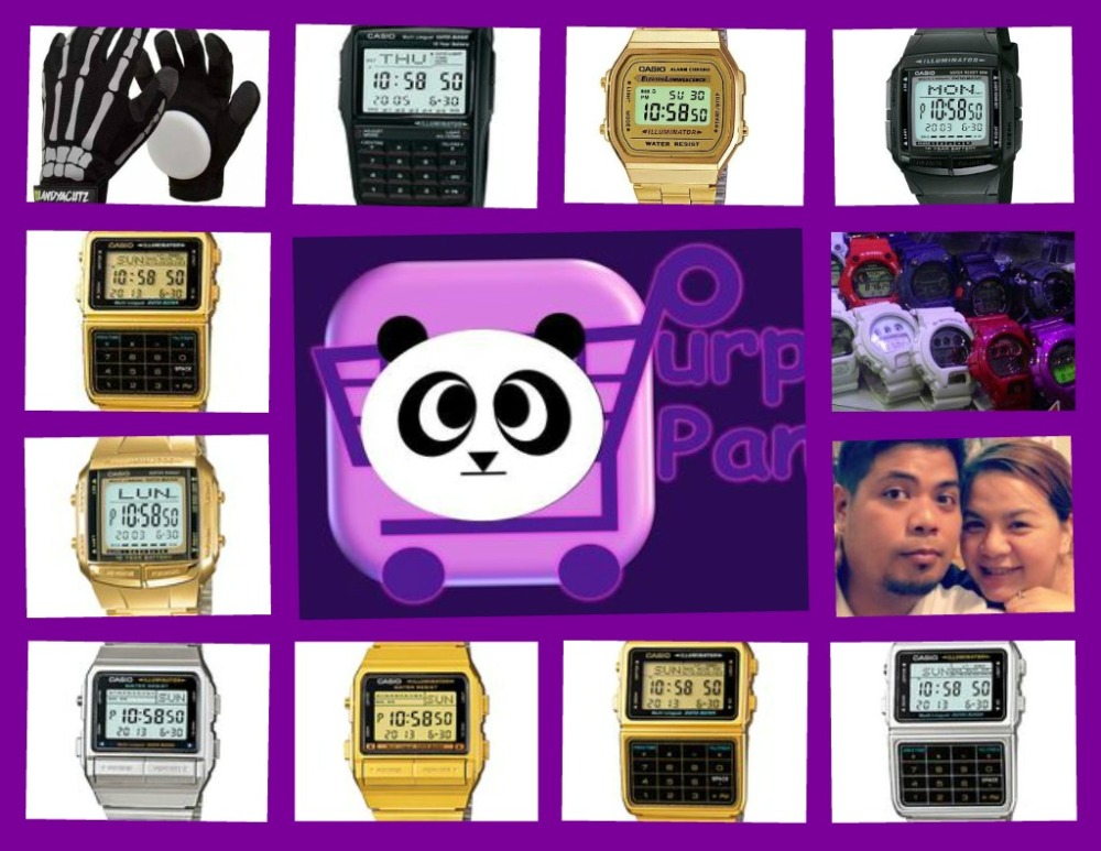 Purple Pandamonium Collage