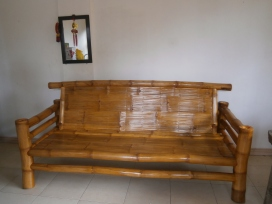 My bamboo daybed