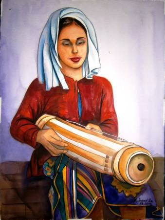 Art, Artist, Painter, Feature Artist, Feature Art, Pinay Artist, Filipina Artist, Art for Sale, Philippines, Menchu VB Arandilla, UWAAP, United Women Artists Association of the Philippines