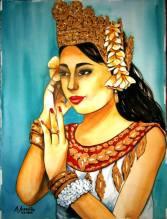 Art, Artist, Painter, Feature Artist, Feature Art, Pinay Artist, Filipina Artist, Art for Sale, Philippines, Menchu VB Arandilla, UWAAP, United Women Artists Association of the Philippines