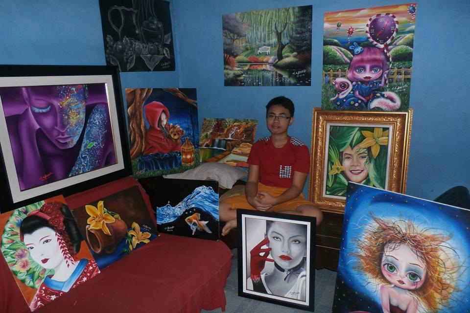 Lord Ahzrin Bacalla, Ahzrin Bacalla, Artist, Art, Filipino Artist, Pinoy Artist, Artist Journey, Featured Artist, Artist Profile, Art Profile, Artist Reflections, Artist Insights, Philippines, Art for Sale, Reflections