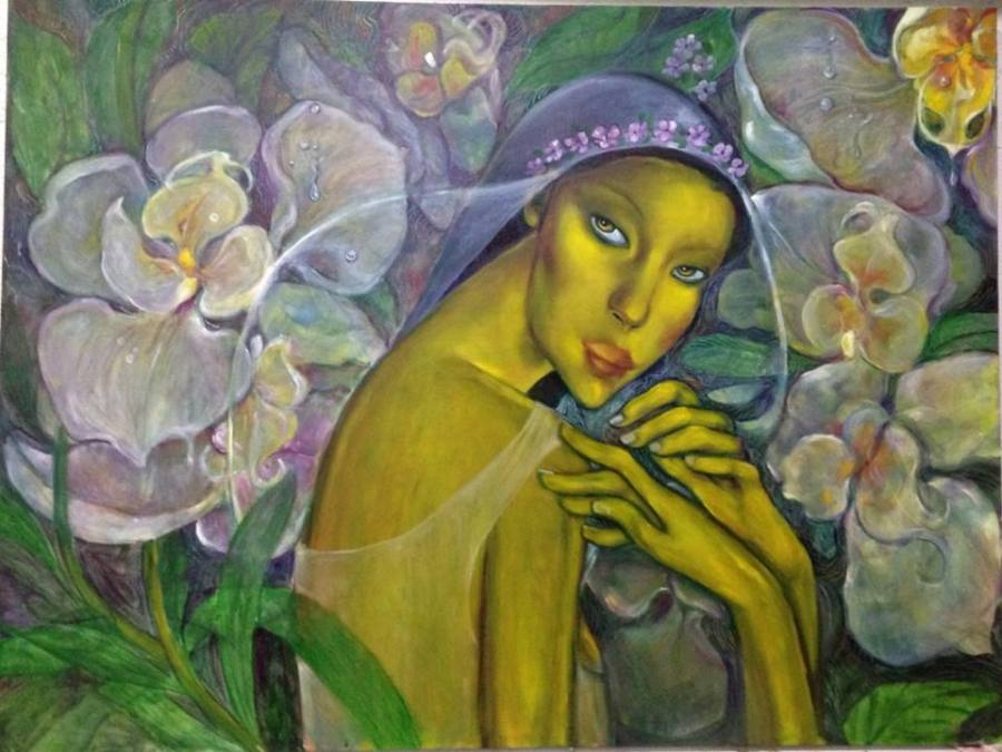 featured artist lydia velasco jenny 39 s serendipity art blog On lydia velasco paintings for sale