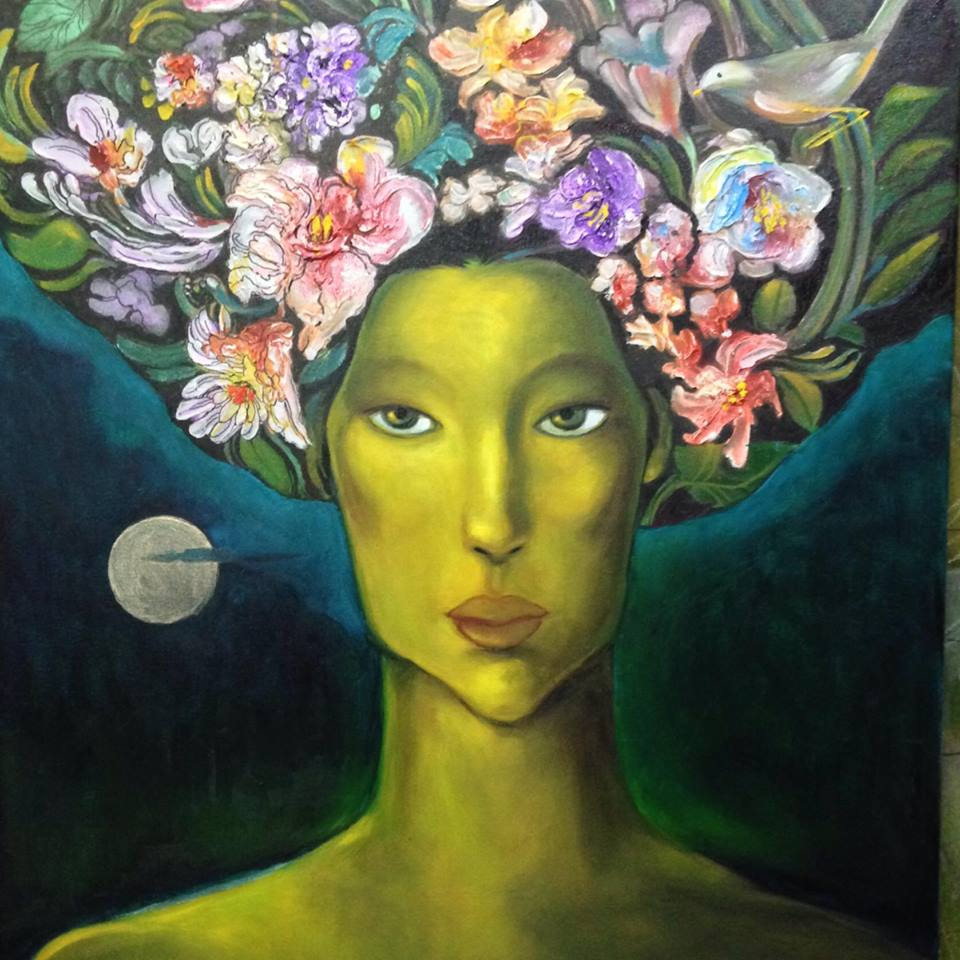Lydia Velasco, Art, Artist, Visual Artist, Painter, Pinay Artist, Filipina Artist, Filipina, Pinay, Women Empowerment, Feminism in Art, Modern Art, Essence of Women in Art, Philippines