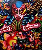 Heidi Rodriguez, Art, Artist, Art Profile, Art For Sale, Pinay Artist, Filipina Artist, Reflections, Artist Reflections, Whimsical Art, Tribal Art, Cross-Cultural Art, Fantastical Art, Tam Awan Artist, Baguio Artist, Painter, Modern Art, Modernist, Philippines