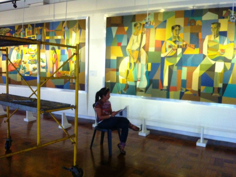 Vicente Manansala, Ronna's Manansala Grandfather's work