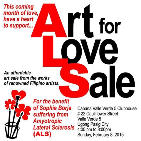 Art, Art Group, Art Auction, Art for Sale, Buy Art, A Bucket of Love for Sophie, Art for a Cause, ALS, Amyotrophic Lateral Sclerosis, Philippines