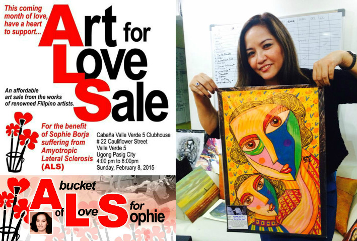 Art, Art Group, Art Auction, Art for Sale, Buy Art, Art Sale, A Bucket of Love for Sophie, Art for a Cause, ALS, Amyotrophic Lateral Sclerosis, Philippines