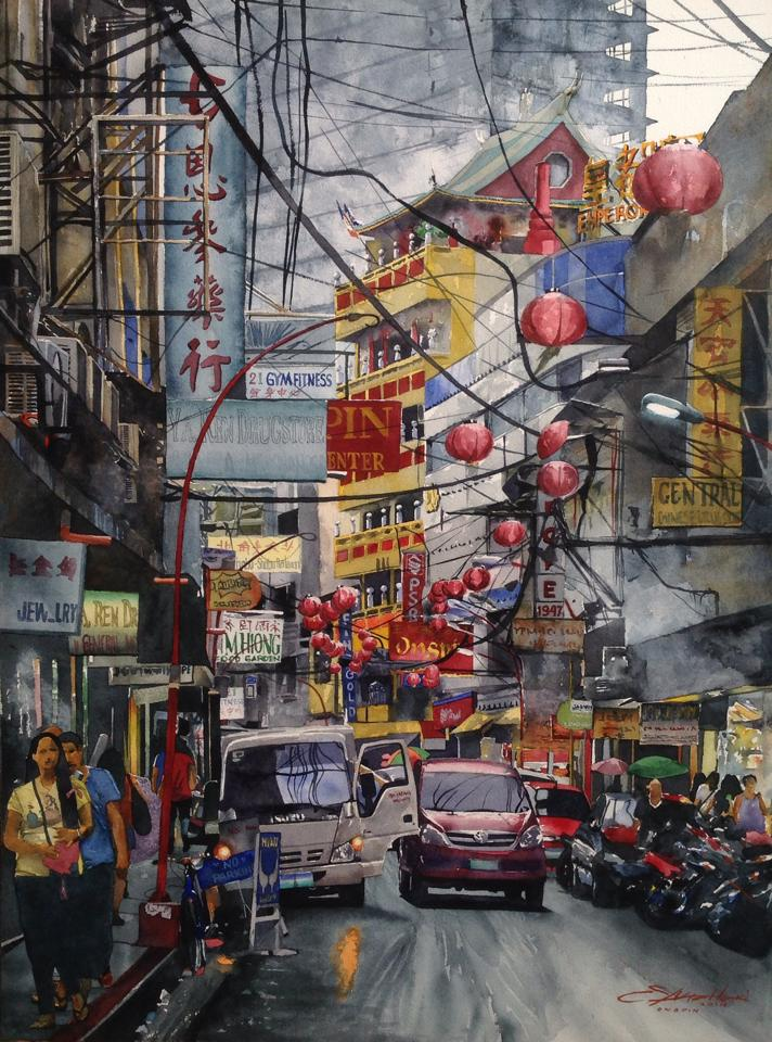 Erwin Mallari, Art, Artist, Filipino Art, Filipino Artist, Watercolour, Watercolour, Figurative Art, Social Realism Art, Featured Art, Philippines