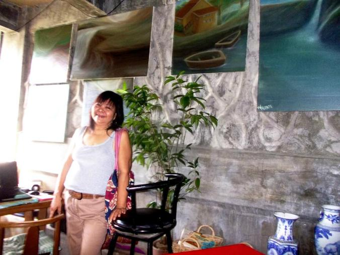 Painting is like I am travelling into a different dimension....creating a world of my own....Thus,time passes by too quickly and I dont even notice..........My Passion :) --A Quote taken from her FB album.