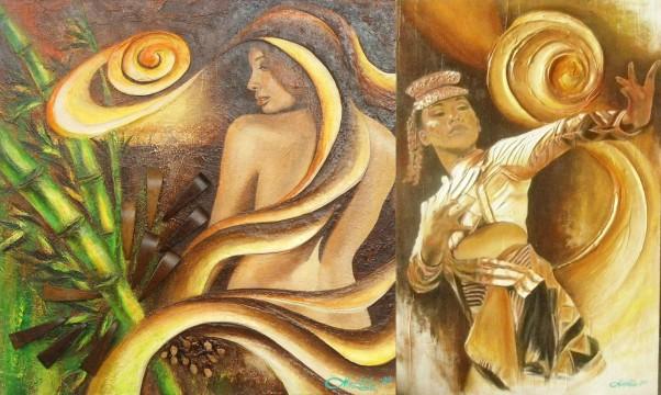 Art, Artist, Artist Feature, Art Profile, Artist Spotlight, Nunistell Mae Fulo-Lee, Bacolod, Visual Artist, Philippines, Dancer, Bayanihan, Performance Artist, Painter