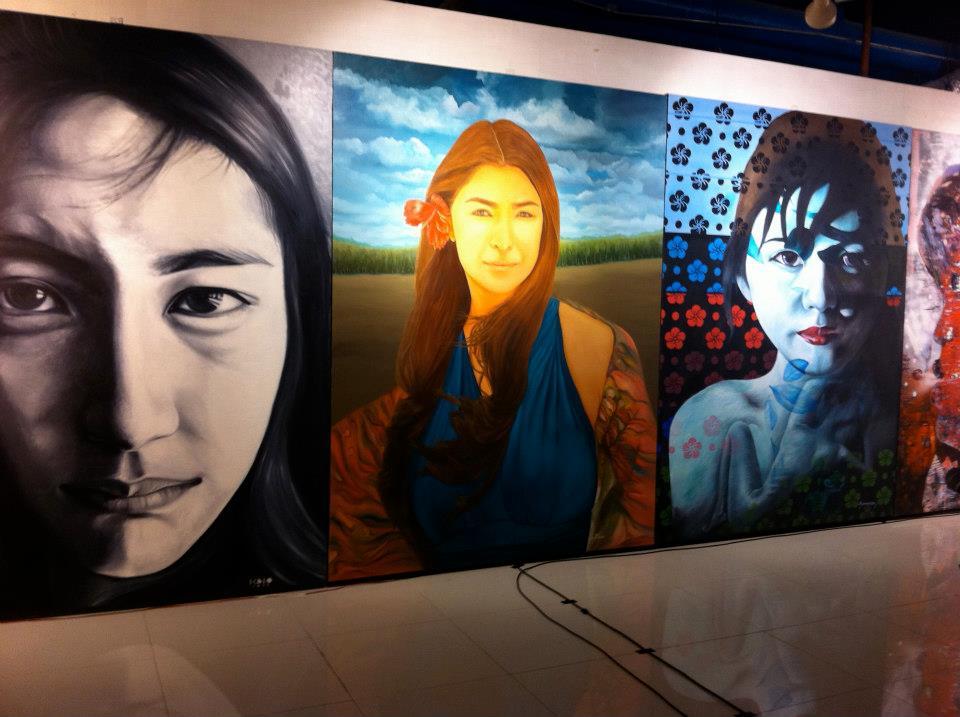 Jensen Moreno, Artist, Painter, Art Teacher, Art Instructor, Designer, Art Organizer, Art Journey, Art Profile, Art Show, Filipina Artist, Global Pinay, Philippines