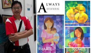Art, Artist, Artist Feature, Ric Ico, RicARTE, Filipino Art, Filipino Artist, Modern Art, Philippines, Cubism, Cubish, Neo-Cubism