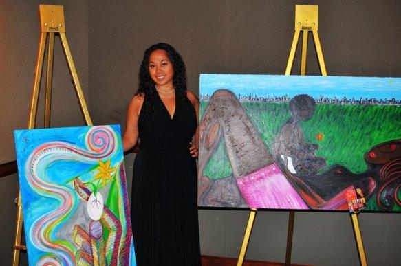 "Marilyn ""Tiya DK"" Kirby, Tiya DK, Art, Art Journey, Art Comeback, Filipina Artist, Fil-Arm Artist"