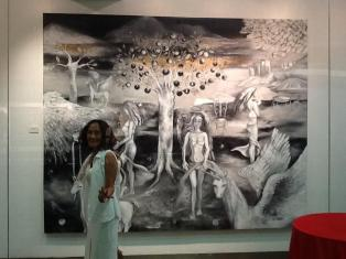 Art, Artist, Art Profile, Art Feature, Artist Profile, Artist Feature, Filipina Artist, Kitty Taniguchi, Cristina Sollesta-Taniguchi, Mariyah Gallery, Philippines, Sculpture, Mural Art, Feminist, Feminist Art, Feminism, Terracotta, Painter, Muralist