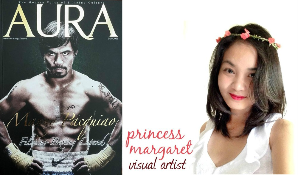 Art, Art Feature, Art Profile, Aura Magazine, Print Art Feature, UK, Philippines, United Kingdom, Filipina Artist, Princess Margaret, Princess Margaret Fuentes, Arventure Academy of Art, Arventure