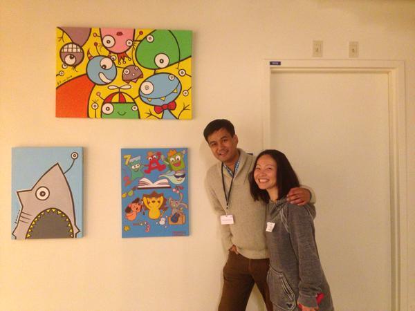 Bren Bataclan, Art, Artist, Filipino Artist, Fil-American Artist, Art Drop, Spread Smiles, Smile Project, SmileB Project, The Smile Movement, Conduct Kindness, Muralists, Smile Artist, Street Art, Street Art project, Spread Kindness, Share Art, Draw with Bren, Artist Feature, Art Profile, The Art of Kindness, Art Feature, Painting, Elementary Art, Mural, Art Project for Inspiration