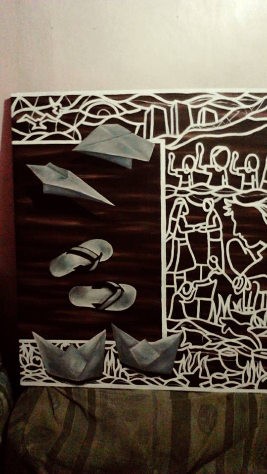 Kevin Villar Cubinar, Kevin Cubinar, Black Art, Visual Arts, Visual Artist, Realism, Abstract, Contemporary Art, Modern Art, Art, Artist, Painter, Painting, Filipino Art, Filipino Artist, ArtPH, Philippine Art, Philippines, Painting, Portrait Artist, Mural, Mural Artist, Social Art, Empowered Art, Empowerment , Social Artist