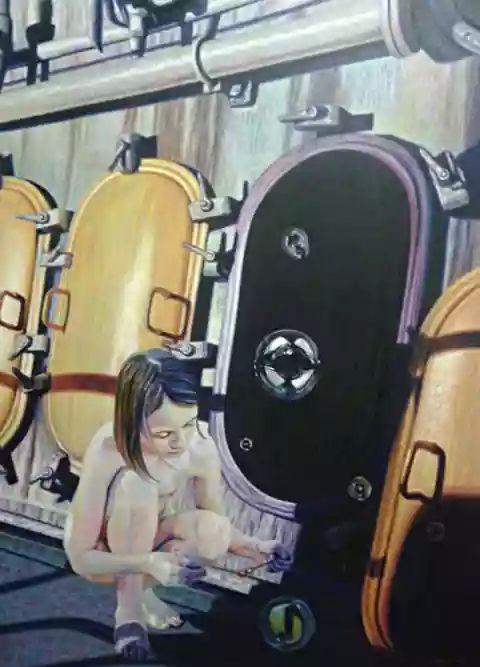 Darrel Dan D. Lagasca, Darrel Lagasca, P-Noise 2015, P-Noise, P-Noise Festival 2015, P-Noise Festival, #PNOISE15, P-Noise Movement, Filipino Artist, Art, Artist, Filipino Artist, Filipino Visual Artist, Contemporary Art, Modern Art, Exhibit, Group Show, Philippines, Dansehallerne, Copenhagen, Denmark
