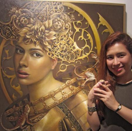 Camille Dela Rosa, Camille D. Dela Rosa, Enchantress Series by Camille Dela Rosa, Art, Artist, Contemporary Art, Modern Art, Surrealism, Surreal, Surrealist, Impressionism, Impressionist, Portraits, Portraiture, Paintings, Painter, Artist Feature, Artist Profile, Filipina Artist, Philippines, Philippine Art, ArtPH
