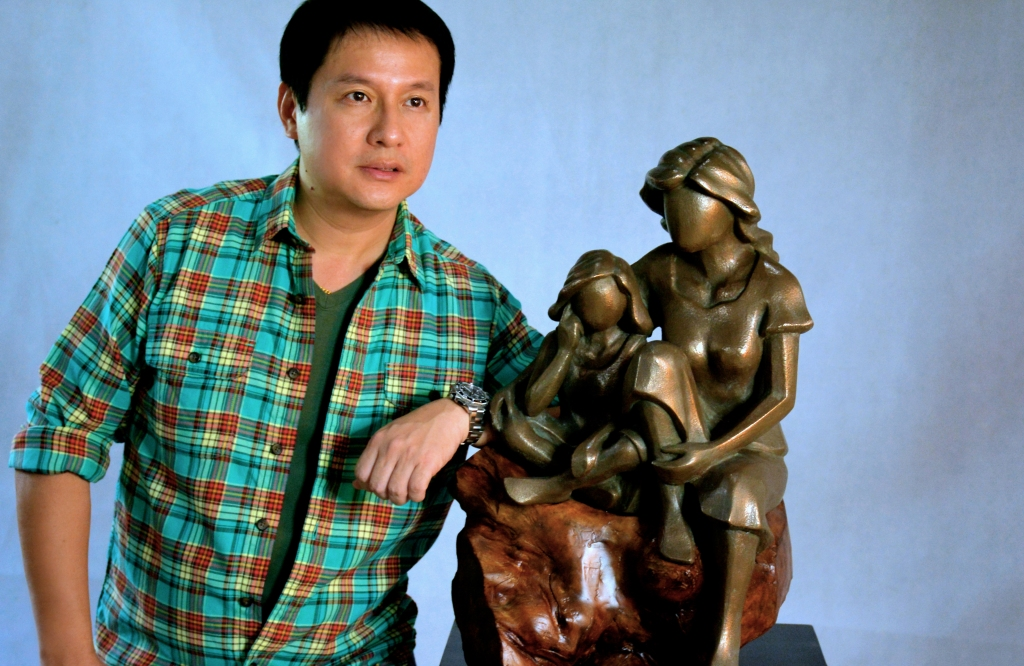 Tondo Art, Artist, Art, Philippines, Sculpture, Sculptor, Contemporary Art, Bronze, Marble, Brass, Statue, Seb Chua, Art Feature, Artwork, Painter, Abstract, Cubism
