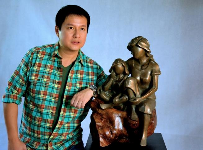 Tondo Art, Artist, Art, Philippines, Sculpture, Sculptor, Contemporary Art, Bronze, Marble, Brass, Statue, Seb Chua, Art Feature, Artwork, Painter, Abstract, Cubism