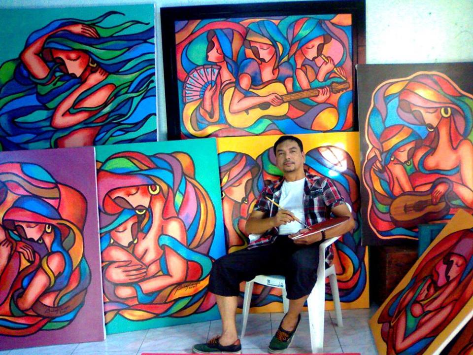 Art, Artist, Artworks, Edwin Dinapo, Edwin Buboy Dinapo, Buboy Dinapo, Visual Artist, Painter, Painting, ArtPH, Art Profile, Art Feature, Filipino Artist, Filipino Painter, Contemporary Art, Abstract, Abstract Paintings, Acrylic, Acrylic on Canvas, Abstract Art, Abstract Artist, Paintings, Abstract Series