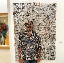 Art, Sam Penaso, Sculptor, Visual Artist, Painter, Painting, Performance Artist, ArtPH, Art Profile, Art Feature, Filipino Artist, Sculptures, Metal, Metalscape, Stainless, Contemporary Art, Abstract, Welded Metal, Art Action, Wall Art Sculpture, Handmade