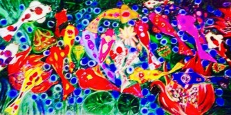 Art, Artist Profile, Art Feature, Artworks, Painter, Tiiz Taruc, Maria Cristina Valencia Taruc, TiinzTaruc ART, World Artist Tiinz, Georgia O'Keefe, Impressionism, Impressionistic Art, Landscapes, Landscape Art, Mother and Child Series, Koi Fish Series, Flower Paintings, Contemporary Art, Modern Art, Filipino Global Artist, Filipina Artist, Fil-American, TiinzTaruc Art, Acrylic, Oil, Sunflowers, Social Realism, Portraits, Impressionist, Master Colorist