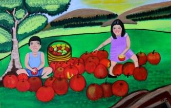 #LornaMaza #FineArt Beautiful Island of the #Philippines www.jennysserendipity.com #Art #ArtPh #FilipinaArtist #Acrylic #AcryliconCanvas