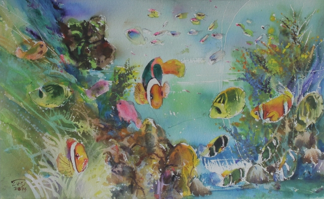 Updated Page for: #RafaelCusi #Watercolour #Art #ArtCollection #FilipinoArtist #FilipinoArt #ArtPh via @MacuhaGallery