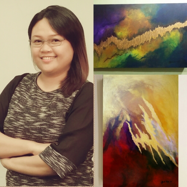 Glad Eser's #Abstract #EnergyArt #AbstractExpressionism #AbstractEnergyArt #AbstractEnergyArtist #AbstractEnergyArtworks #EnergeticAbstraction #ColorfulEnergyArt #EnergyPaintings #HealingArt #EnergyArtworks #ArtPH #FilipinaArtist www.jennysserendipity.com