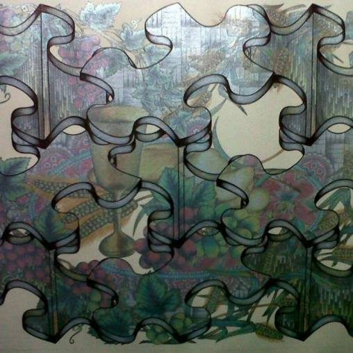 #MarilenBuan and her #PuzzleArt #Puzzle #Puzzles #ArtJigsawPuzzle #JigsawPuzzle #JigsawPuzzleArt #PuzzleArtist #ArtJigsaw #Art #ArtPh www.jennysserendipity.com