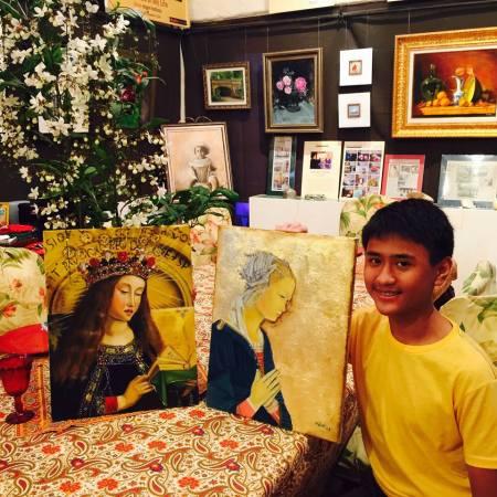 Meet #SkyDeLeon #ChildProdigy #Painter www.jennysserendipity.com #VisualArtist #FilipinoArtist #Art #ArtPH #ContemporaryArts #Impressionism #Realism