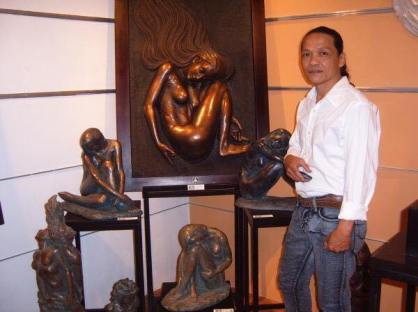 #MerlitoGepte Award Winning #FilipinoSculptor #Sculpture #ArtPH www.jennysserendipity.com