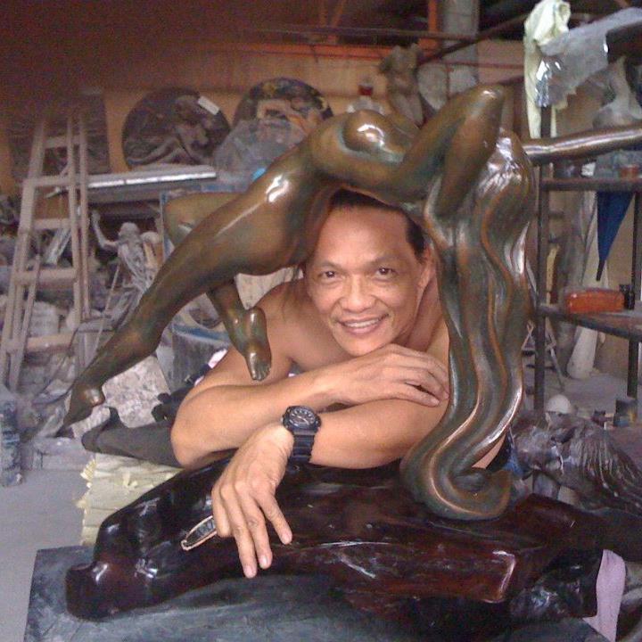 #MerlitoGepte Award Winning #FilipinoSculptor #Sculture #ArtPH www.jennysserendipity.com