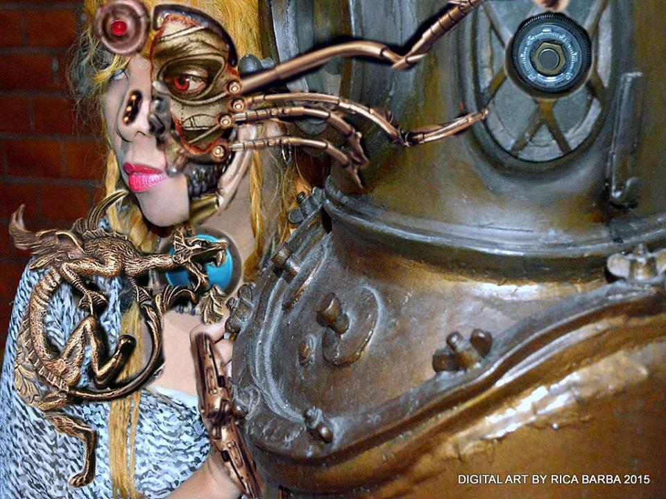 #RicaBarba's #CyborgArt #Cyborgs #Biomechanical #3D #Cyber #Digital #Art #FantasyArt #Algorithm #Narrative #Fractal #Vector #Surreal #Androids #Robots #Alliens #Creatures #Steampunk #Futuristic www.jennysserendipity.com