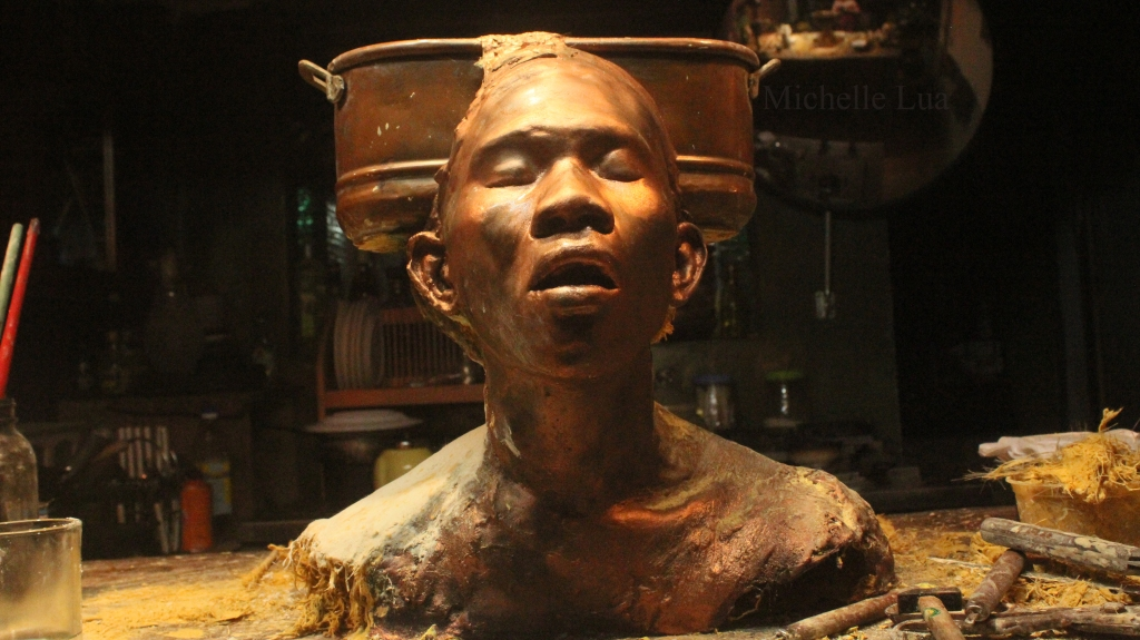 Michelle Hollanes Lua: #Sculptor #Musician #MixedMedia #Multimedia #ScavengerArtist #Art #ArtPH #FilipinaArtist www.jennysserendipity.com