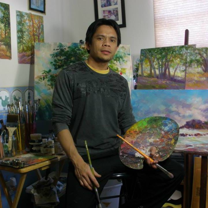 #FilipinoArtist #NorbingVillez and his #LetsPaint #ArtAdvocacy #Facebook #ArtTutorial #ArtGroup #ArtPh #Art www.jennysserendipity.com