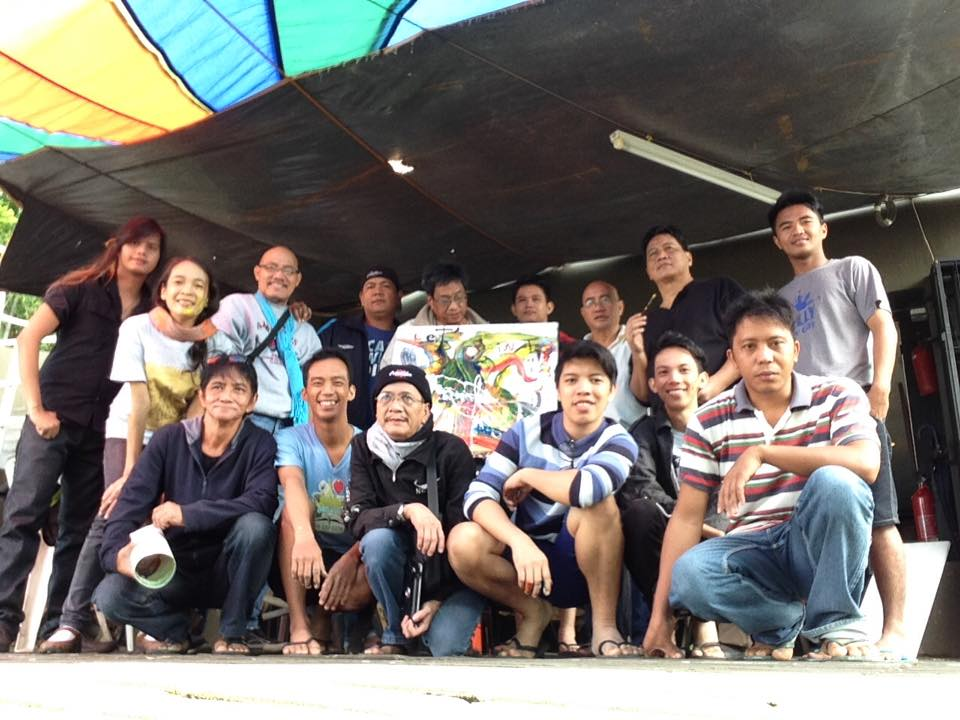 #FilipinoArtist #NorbingVillez and his #LetsPaint #ArtAdvocacy #ArtGroup #FacebookArtGroup #ArtPh #Art www.jennysserendipity.com