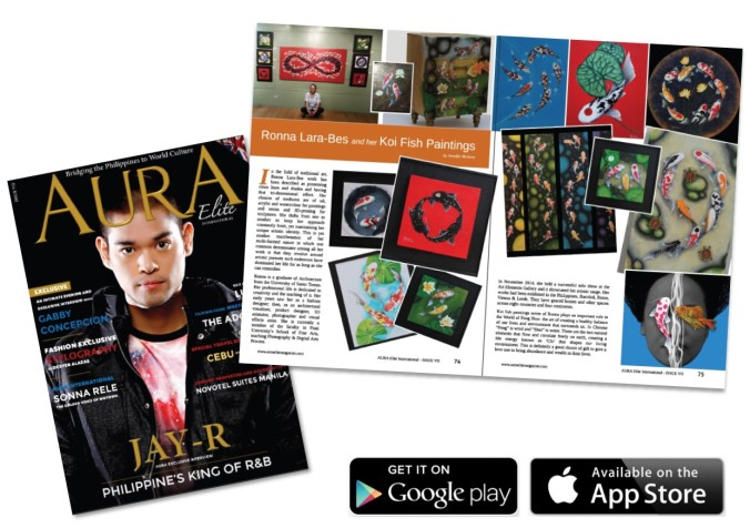 AURA Elite International Magazine – Issue No. 7 – Art Contributor