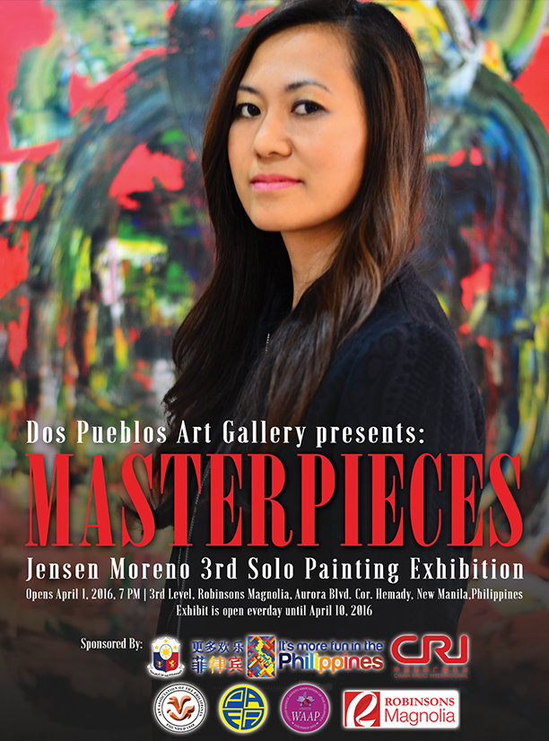 MASTERPIECES: 3rd solo exhibition by Jensen Moreno
