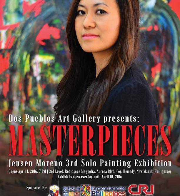 MASTERPIECES: 3rd solo exhibition by Jensen Moreno