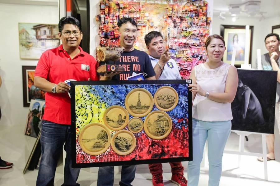 1st Place - Kay Ganda ng Pilipinas Painting Contest