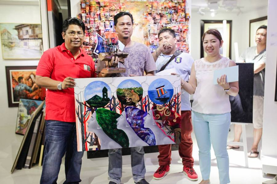 2nd Place - Kay Ganda ng Pilipinas Painting Contest