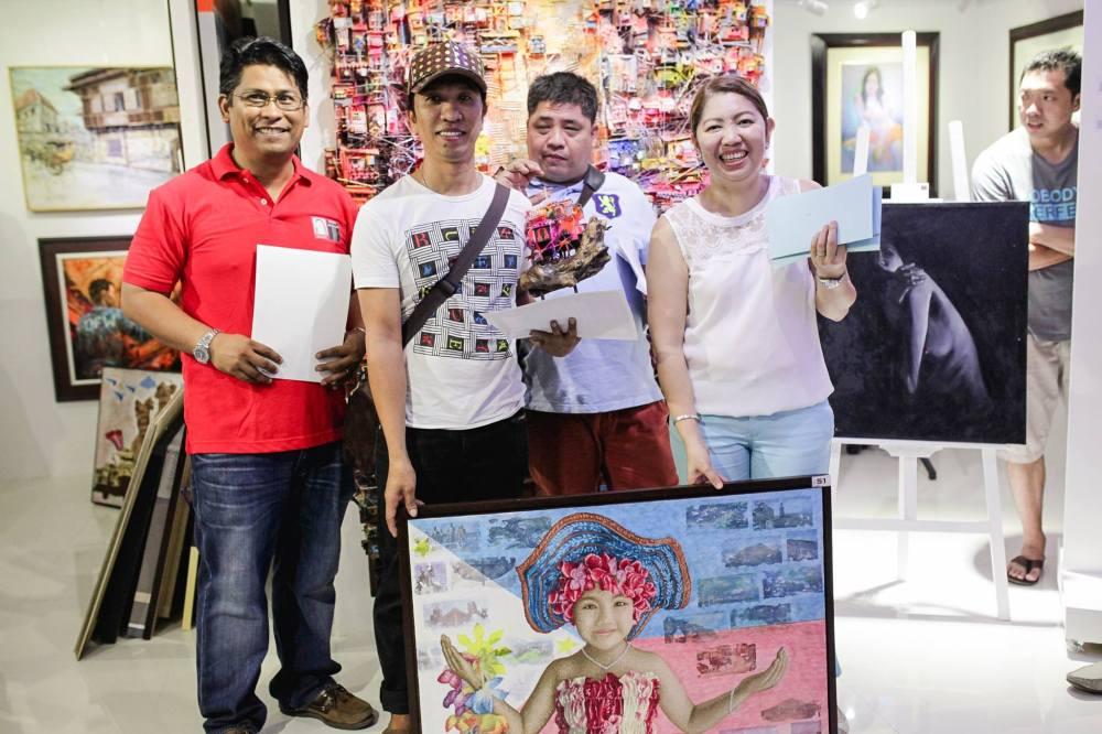 3rd Place - Kay Ganda ng Pilipinas Painting Contest