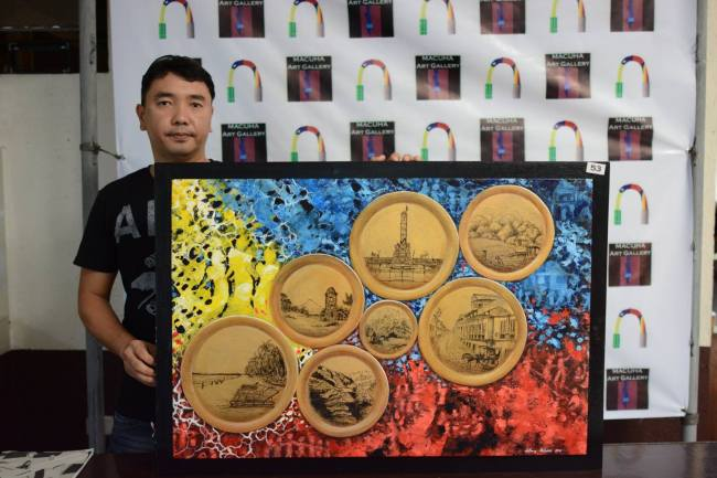 Anthony Malonzo, Grand Prize Winner - macuha Art Gallery - Kay Ganda ng Pilipinas Painting Contest